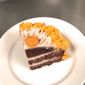 Take a peek inside one of our lush cakes! Order a cake now, we deliver in Cardiff!